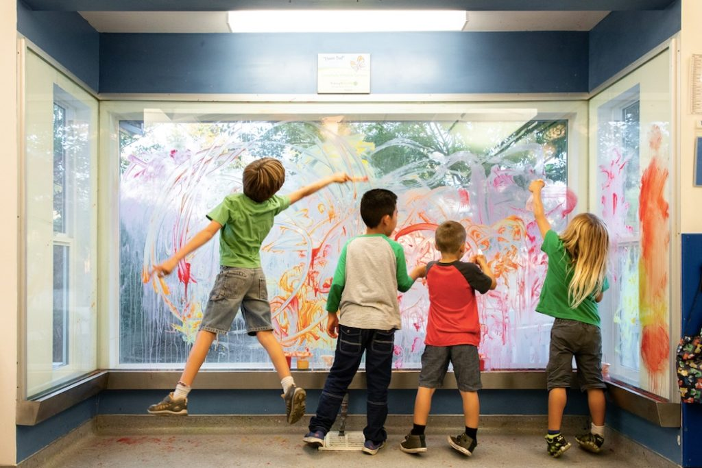 Window Painting at CMOSC