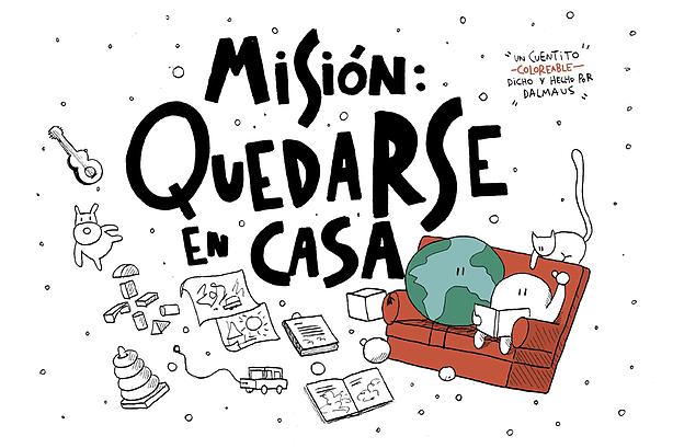 Misión: Quedarse en Casa book cover