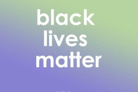 black lives matter text image