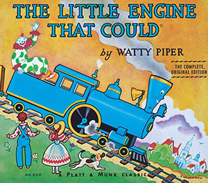 little engine that could book cover