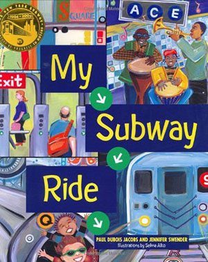 my subway ride book cover