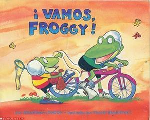 Vamos, Froggy book cover