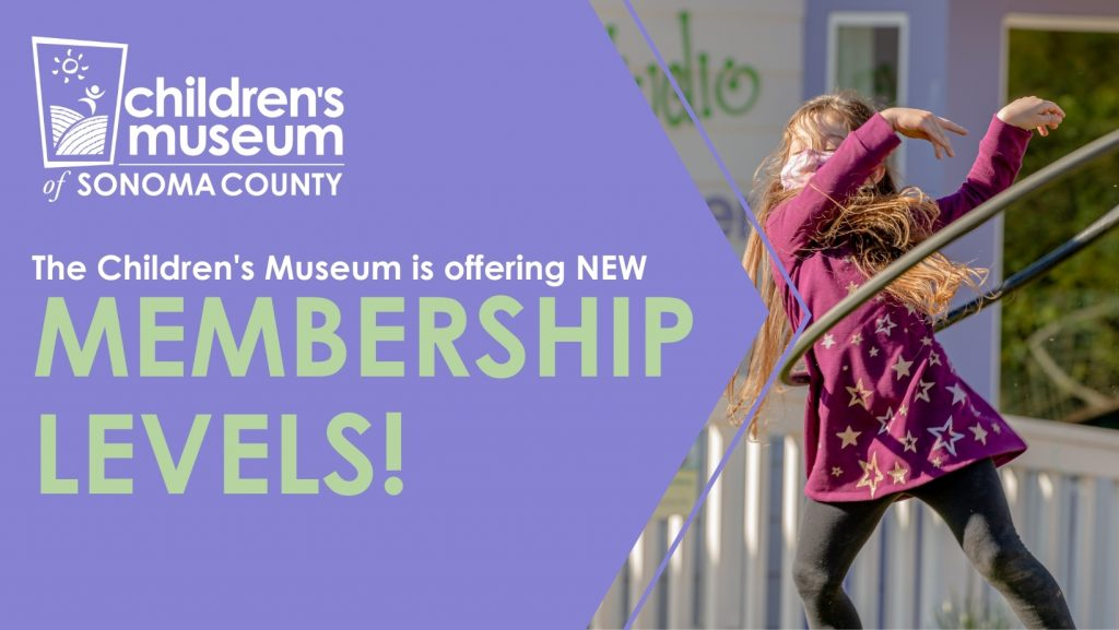 The Children's Museum is offering new Membership Levels