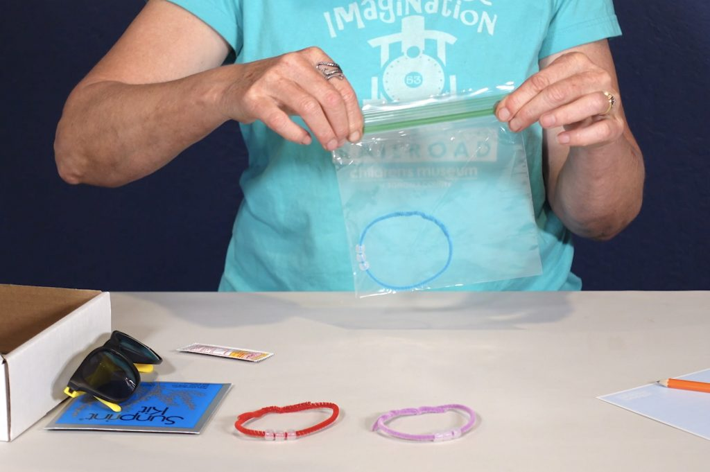 Sun Science Kit and Caboodle Kit from the Children's Museum of Sonoma County