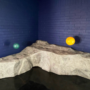 Construction of the Children's Museum of Sonoma County's Lunar Table